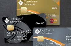 Community Financial MasterCards