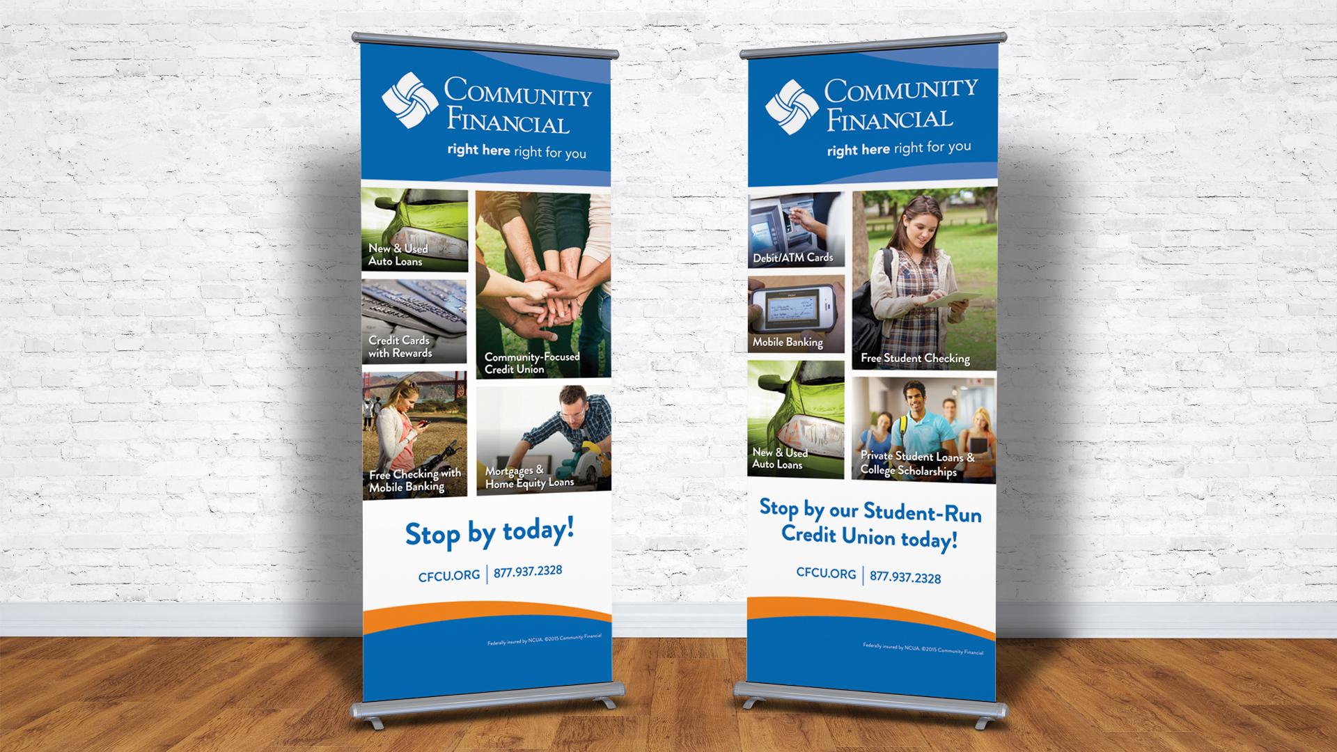 Community Financial Rollup Banners   The Brainwerks